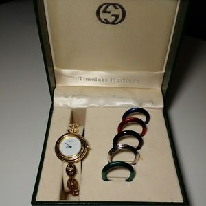 Gucci Vintage Watch with Bezels